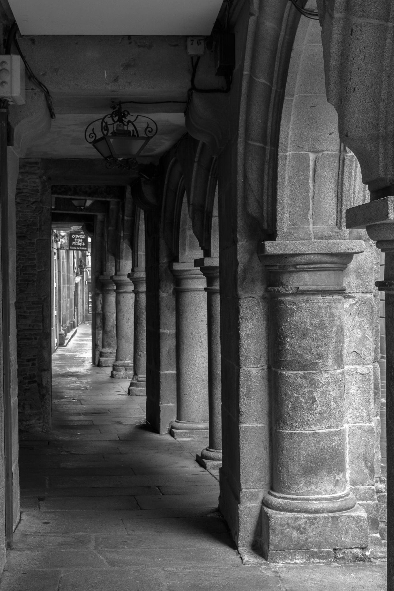 Rúa Nova de Arriba. Casco Histórico, Santiago de Compostela.