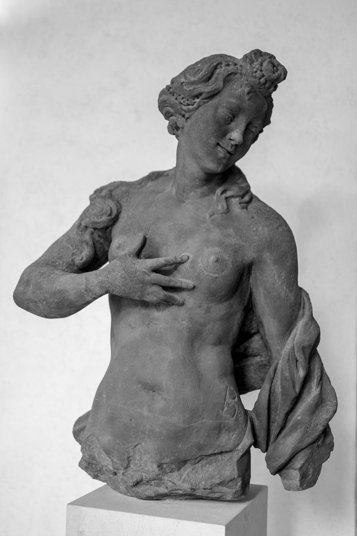 Matthias Braun was one of the most notable baroque sculptors of Prague and Bohemia.<br> This work is in the collection of the Schwarzenberg Palace, in Prague, and is part of the National Gallery.