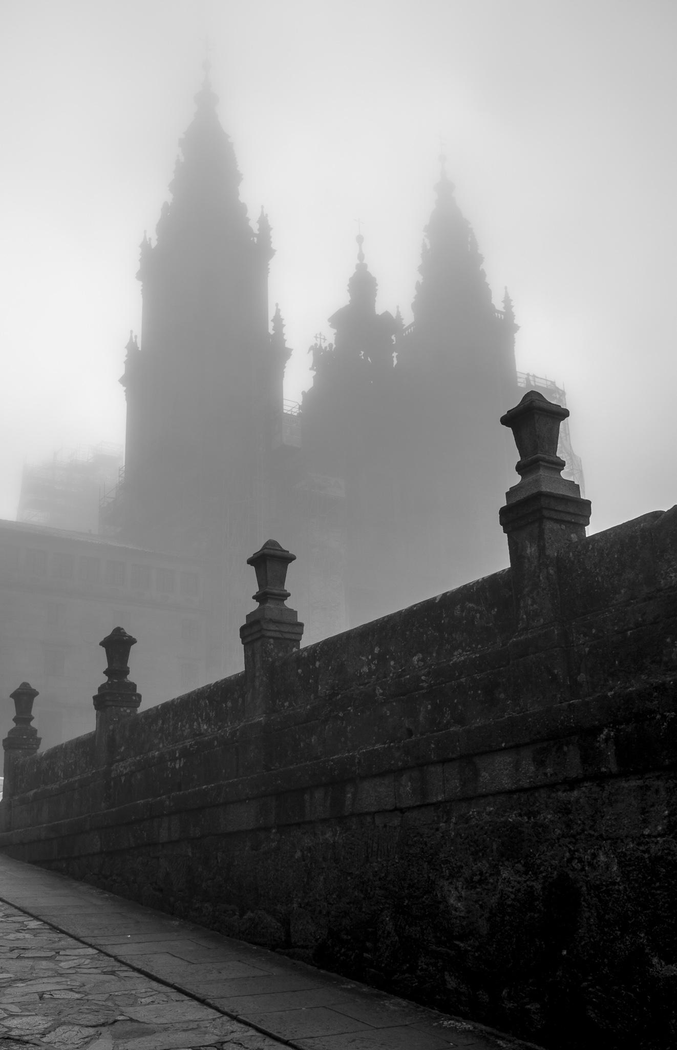 A Catedral de Santiago de Compostela, comezada a construír en 1075, é un dos templos máis coñecidos e admirados do mundo, non só polo seu patrimonio arquitectónico e artístico que conxuga os estilos románico e barroco, senón por ser referencia para os miles de peregrinos que parten cara a ela cada ano. <br><br>A construción do templo, declarado Patrimonio da Humanidade en 1985 e duns 100m de longo e máis de 70m de altura, completouse aproximadamente cara ao ano 1200.