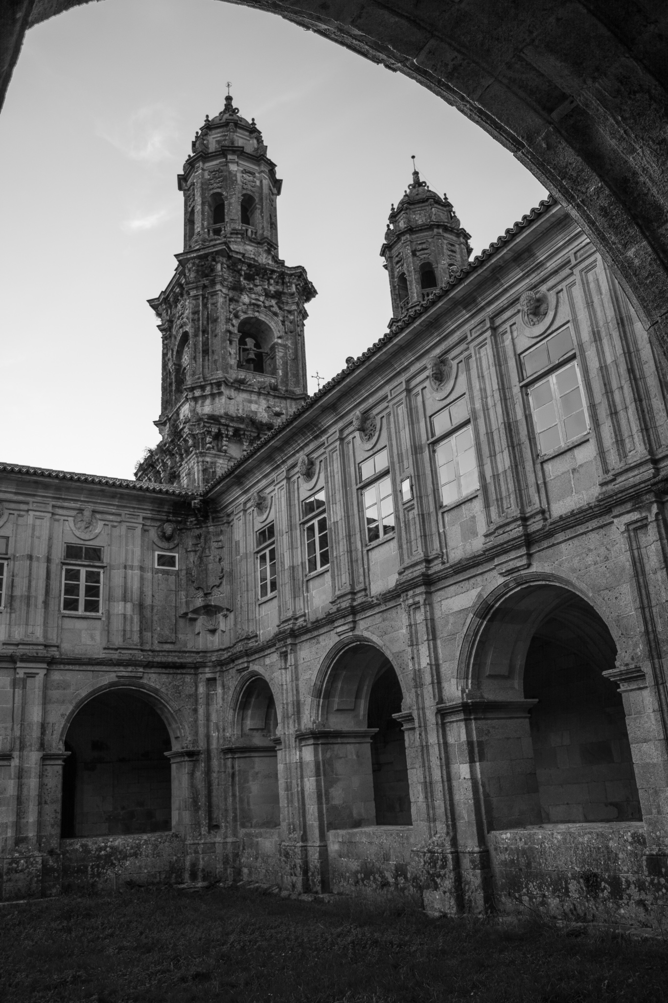 The monastery of Santa Maria de Sobrado dos Monxes, municipality of Sobrado, is one of the main medieval monasteries of Galicia. <br>Declared National Artistic Historical Monument, after the reforms of the centuries XVI to XVIII, it also became one of the main monuments of Galician baroque.